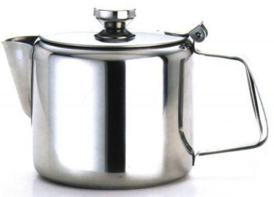 Stainless Steel Economy Teapot Mirror Finish 16oz (500ml)