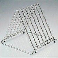 Stainless Steel Genware Wire Cutting Board Rack