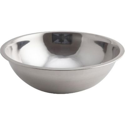 Genware Mixing Bowl Stainless Steel 0.62 Litre  16cm x 5cm