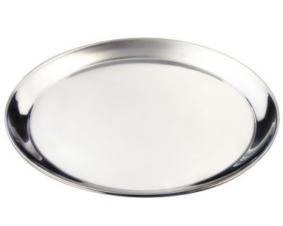 Stainless Steel Round Tray 16