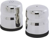 Stainless Steel Mini-Jumbo Condiment Salt & Pepper (pair) 45mm x 50mm