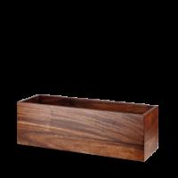 Churchill Alchemy Buffet Wood Medium Rectangular Riser 18 1/8