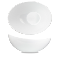 Churchill Alchemy White Melamine Moonstone Buffet Bowl  14