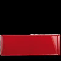 Churchill Alchemy Buffet Rectangular Red Melamine Tray 22 3/4