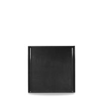 Churchill Alchemy Buffet Square Black Melamine Tray 11 7/8