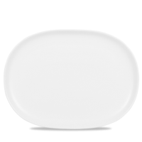 Churchill Alchemy Moonstone Oval Plate  6 3/8