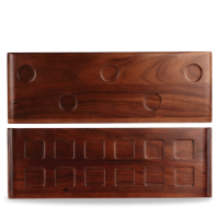 Churchill Alchemy Rectangular Canape Tray 58cm x 20cm  22 3/4
