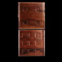 Churchill Alchemy Square Canape Tray 30.3cm x 30.3cm   11 7/8
