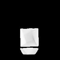 Churchill Art de Cuisine Menu White Miniatures Mini Origami Bowl  2 5/8