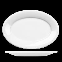 Churchill Art de Cuisine Menu Oval Plate 12