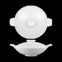 Churchill Art de Cuisine Menu Theatre Large Lidded Bowl 11 3/8