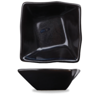 Churchill Art de Cuisine Menu Black Miniatures Mini Origami Bowl  2 5/8