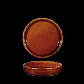 Churchill Art de Cuisine Rustics Brown Simmer Mezze Dish 8