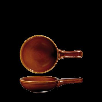 Churchill Art de Cuisine Rustics Brown Simmer Small Skillet Pan 9