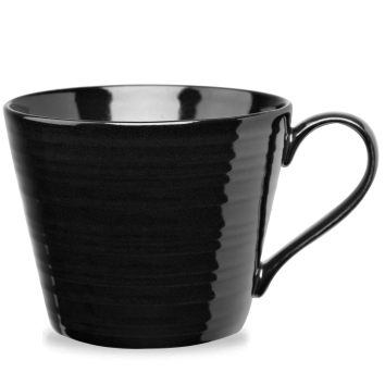 Churchill Art de Cuisine Rustics Black Snug Mug 12oz (35.5cl)