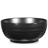 Churchill Art de Cuisine Rustics Black Glaze Ripple Bowl 3 1/2