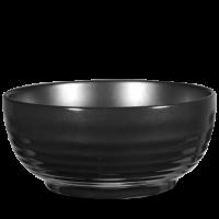 Churchill Art de Cuisine Rustics Black Glaze Ripple Bowl 3 1/2