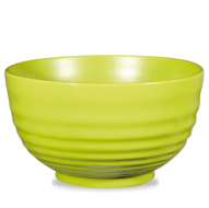 Churchill Art de Cuisine Rustics Green Glaze Ripple Bowl 3 1/2