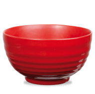 Churchill Art de Cuisine Rustics Red Glaze Ripple Bowl  3 1/2