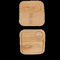 Churchill Art de Cuisine Wooden Small Square Oak Board  8