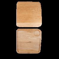 Churchill Art de Cuisine Wooden Large Square Oak Board  11 1/2