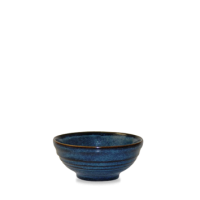 Churchill Bit on the Side Sapphire Ripple Snack Bowl 10.4cm dia x 4.9cm height 17cl (6oz)