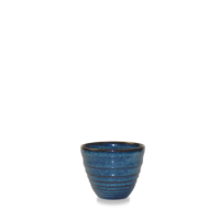 Churchill Bit on the Side Sapphire Ripple Dip Pot 5.9cm dia x 5cm height 5.7cl (2oz)