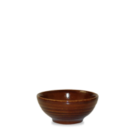 Churchill Bit on the Side Cinnamon Ripple Snack Bowl 10.4cm dia x 4.9cm height 17cl (6oz)