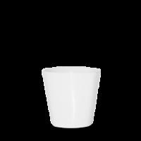 Churchill Bit on the Side White Square Chip Mug 10cm dia x 9.5cm height    45.5cl (16oz)