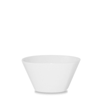 Churchill Bit on the Side White Square Bowl 13.5cm dia x 7cm height  51.1cl (18oz)