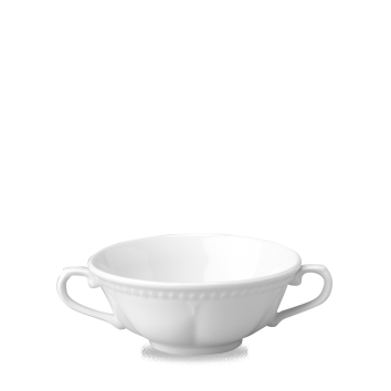 Churchill Buckingham White Elegant Soup Cup Handled 13 1/2oz (38.5cl)