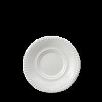 Churchill Buckingham White Large Saucer 6
