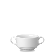 Churchill Chateau Blanc Consomme bowl with handles  10oz  ( 28cl)