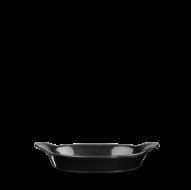 Churchill Cookware Black Intermediate Oval Eared Dish 9 1/8