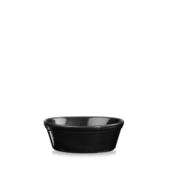 Churchill Cookware Black Oval Pie Dish 6