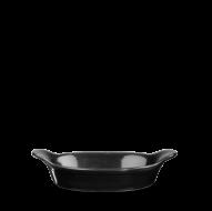 Churchill Cookware Black Small Round Eared Dish 7 1/8