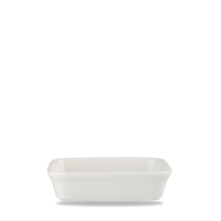 Churchill Cookware Plain Whiteware Shallow Rectangular Dish 6 1/8
