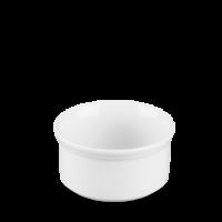 Churchill Cookware Plain Whiteware Souffle Dish  4