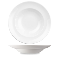 Churchill Equation Round Pasta Plate  12