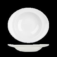Churchill Equation Oval Pasta Plate 12