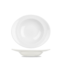 Churchill Equation Oval Soup Plate 10 3/4