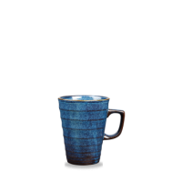 Churchill Latte Ripple Sapphire Blue Latte Mug 10oz (28cl)