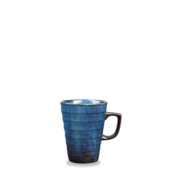 Churchill Latte Ripple Sapphire Blue Latte Mug 8oz (25cl)