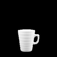Churchill Latte Ripple White Latte Mug 10oz (28cl)