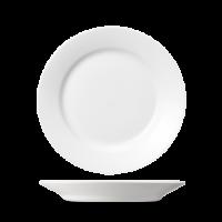 Churchill Plain Whiteware Mediterranean Dish 9