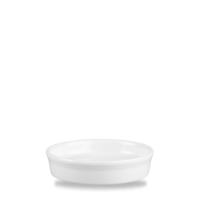 Churchill Plain Whiteware Mezze Dish 4 3/8
