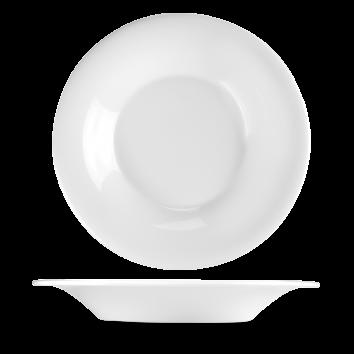 Churchill Plain Whiteware Flare Bowl 10