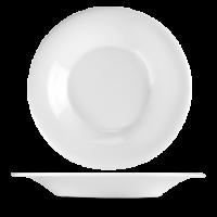 Churchill Plain Whiteware Flare Bowl  12