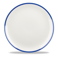 Churchill Retro Blue Coupe Plate 10 1/4