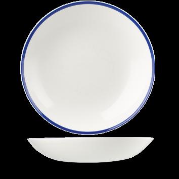 Churchill Retro Blue Coupe Bowl  12